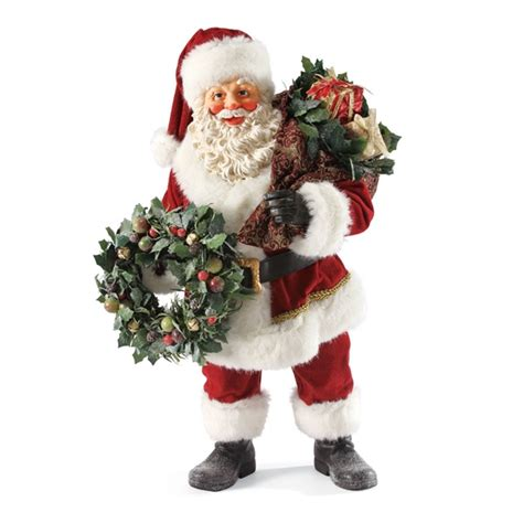 santa claus collectibles 19 inch santa claus possible dreams figurine 4033713