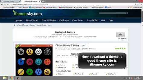 how to install themes for iphone 5 how to install themes on iphone ipod touch and ipad using