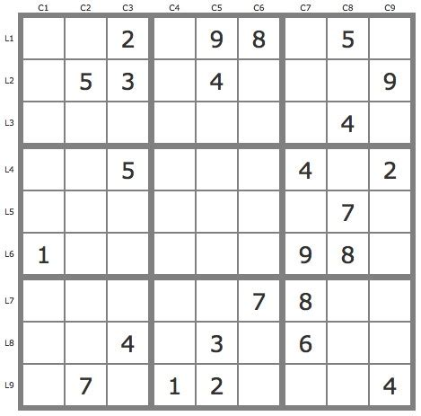 Grille Sudoku by Assistant Sudoku