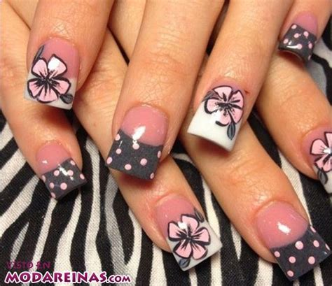 Blumen Nägel by 5 Ideas De Manicura Floral