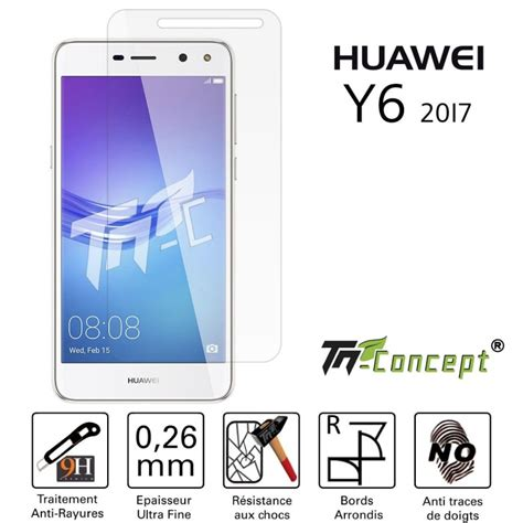 Anti Huawei Y6 Indoscreen Hikaru vitre de protection en verre tremp 233 huawei y6 2017 tm