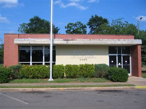 Richland Post Office by Richland Ga Us Post Office Photo Picture Image