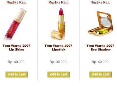 Harga Slimming Gel Mustika Ratu Di Indomaret produk kecantikan mustika ratu cha vi informasi