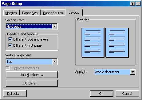 layout dialogue box word 2010 microsoft word faq frequently asked questions