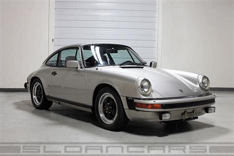 Porsche 911 Sc 1983 by 1983 Porsche 911 Sc Coupe 38 993 Sloan Cars
