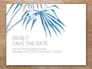 save the date printable templates palma save the date template