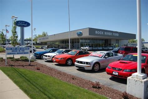 Rock River Ford by Rock River Ford Kia Mitsubishi Car Dealership In