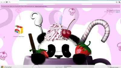 google chrome themes cute panda panda chrome themes themebeta