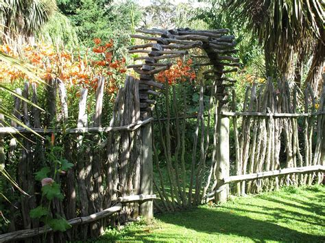 Rustic Garden Ideas Garden Fence Ideas For Great Home And Garden