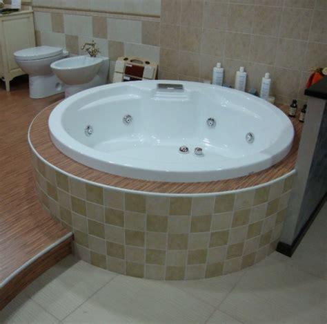 vasca da bagno circolare vasca idromassaggio circolare 150 da incasso 8 getti hd