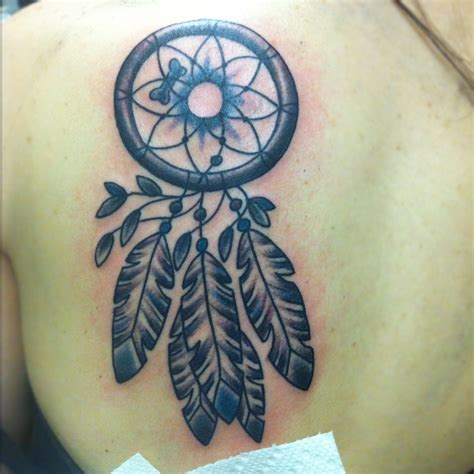 dream catcher tattoo on shoulder catcher images designs