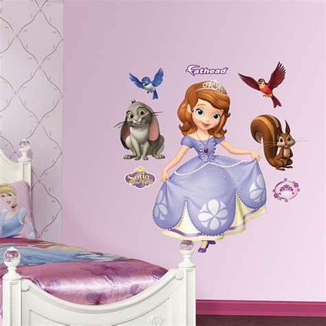 princess sofia wall stickers sofia the wall decal shop fathead 174 for sofia the