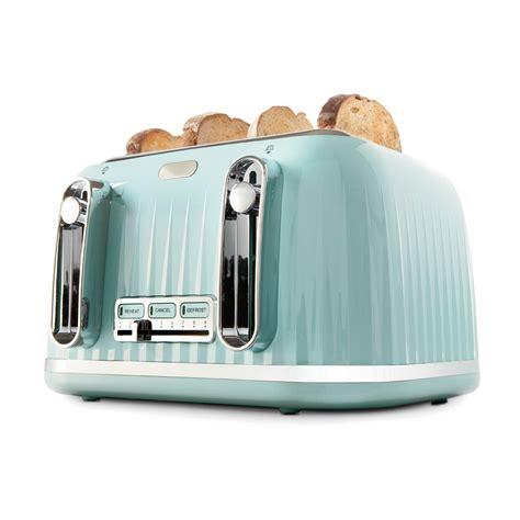 Turquoise Kitchen Ideas 4 Slice Euro Toaster Kmart