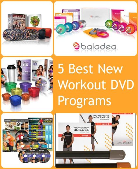 5 best new workout dvd programs