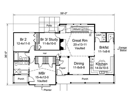 atrium ranch house plans 17 best images about atrium ranch homes on pinterest new