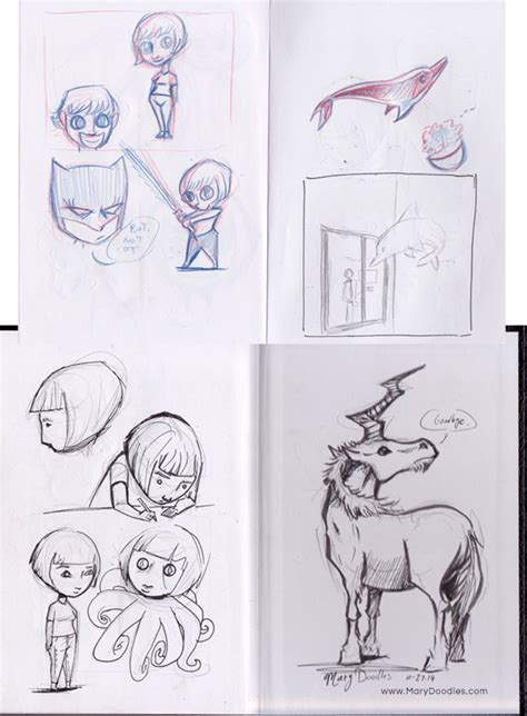 sketchbook tour sketchbook tour 2 doodles
