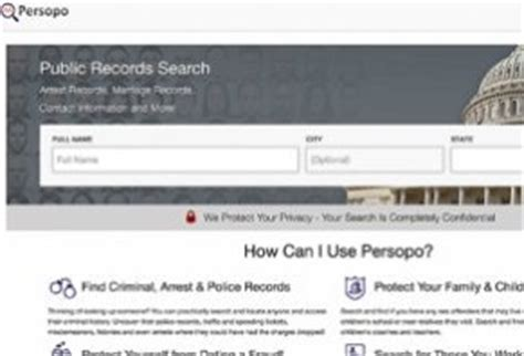 Persopo Background Check Persopo Reviews Is It A Scam Or Legit
