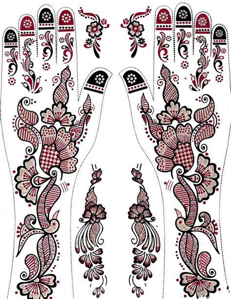henna tattoos zum aufkleben temporary henna tattoos zum aufkleben mehrere teile