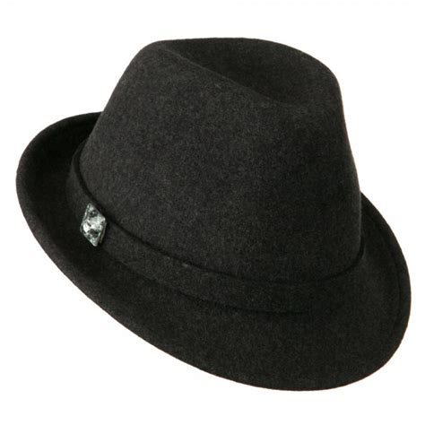 fedora grey s button fedora hat e4hats