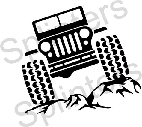 jeep grill logo vector jeep grill clip art black and white sketch coloring page