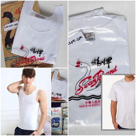 Harga Kaos Oblong Merk Swan murah kaos dalam swanbrand swan brand pria oblong lengan