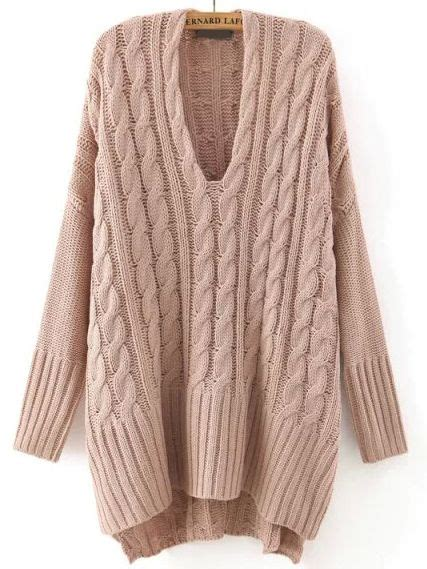 V Neck Twist Chunky Sweater Khaki by Best 25 Cable Knitting Ideas On Knitting