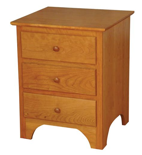 Dining Room Buffet And Hutch by Shaker Nightstand Amish Furniture Designed