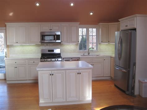 finished kitchen cabinets kitchen finished jsi wheaton cabinets home improvement blog