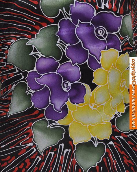 motif bunga batik batik lukis car interior design