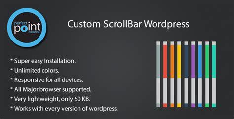 scrollbar ui pattern custom scrollbar wordpress by perfectpoint codecanyon