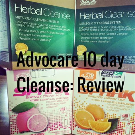 10 Day Detox Diet Challenge Review by 89 Best Advocare 10 Day Cleanse Meals Images On