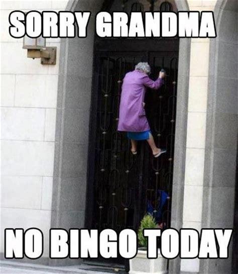 Today S Funny Memes - sorry grandma no bingo today funny joke pictures