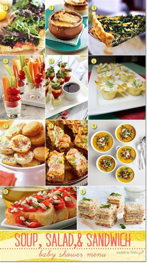 soup kitchen menu ideas simple baby shower menu ideas baby shower menu simple