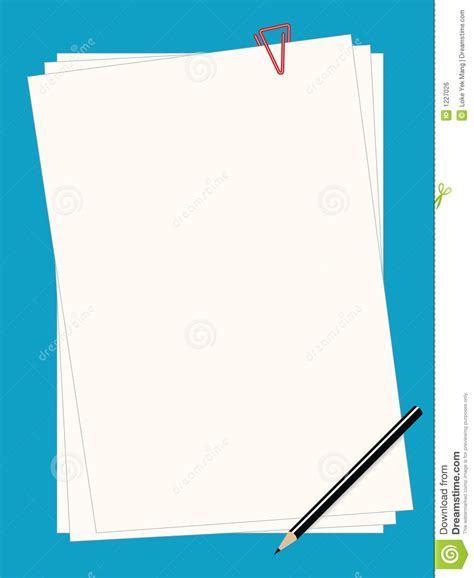 plain of paper to write on the computer plain paper royalty free stock image image 1227026