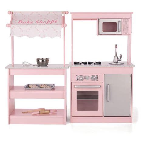 Pink Wooden Play Kitchen by Fao Schwarz Wooden Play Kitchen Bake Shoppe