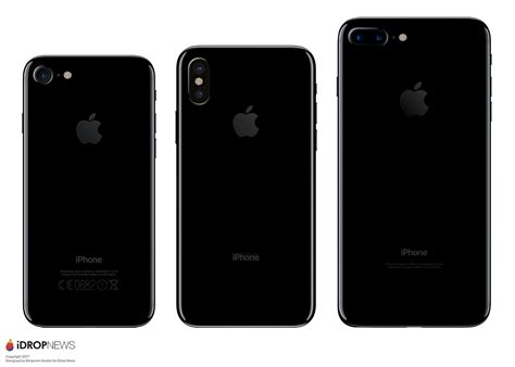 iphone 8 iphone 8 plus and iphone x in depth a step by step manual a visual and detailed guide to using your device like a pro books les dimensions de l iphone 8 se confirment comparatif en
