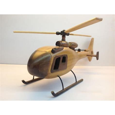 Handmade Helicopter Models - cheap handmade wooden home decorative novel vintage