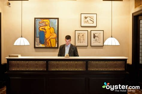 front desk at the greenwich hotel oyster hotel reviews