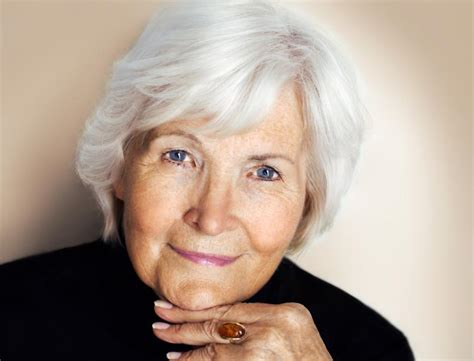 hairstyles for seniors with gray hair hairstyles for silver hair slideshow