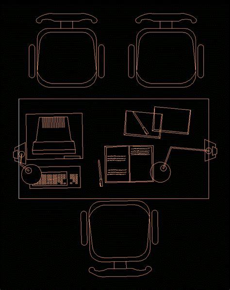 muebles dwg muebles de oficina en autocad descargar cad gratis 40