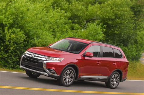 mitsubishi outlander 2016 review 2016 mitsubishi outlander review first drive motor trend