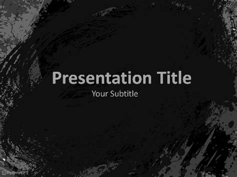 Free Textures Powerpoint Templates Themes Ppt Grunge Powerpoint Template