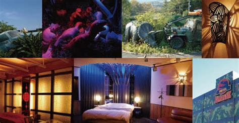 theme hotel japan love hotel in japan modeled after jurassic park