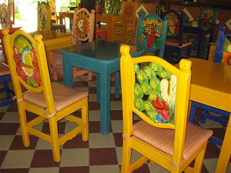 mexican painted chairs will mexican furniture stores ship to the us the