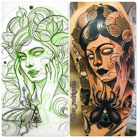 neo traditional tattoo pinterest pin by andr 233 rodrigues on neo traditional tattoo meus