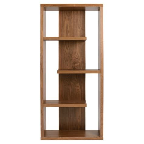 modern shelving modern shelves robyn walnut shelving unit eurway