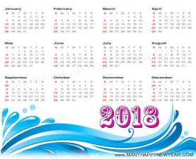 Calendar 2018 Year Happy New Year 2018 Calendar Images Happy New Year 2018