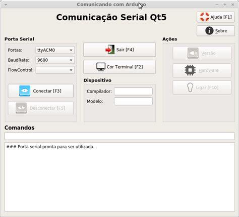 qt5 designer layout qt5 para comunica 231 227 o serial aplica 231 227 o embarcados