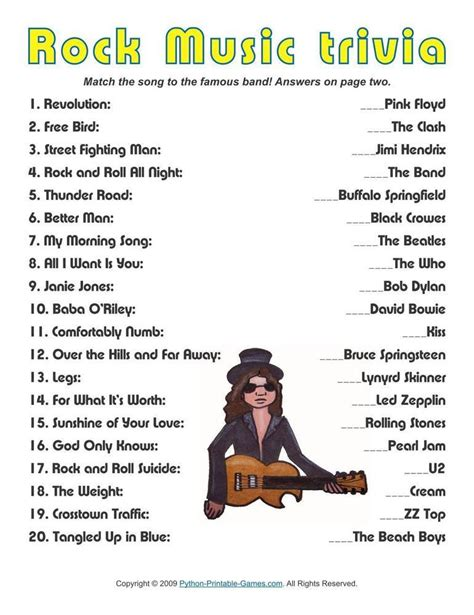 theme song quiz 2014 pop culture trivia questions and answers printable
