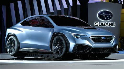 subaru concept cars subaru wrx will look a lot like the concept car